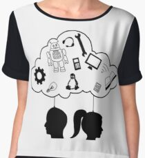 Think about the future - IT Chiffon Top