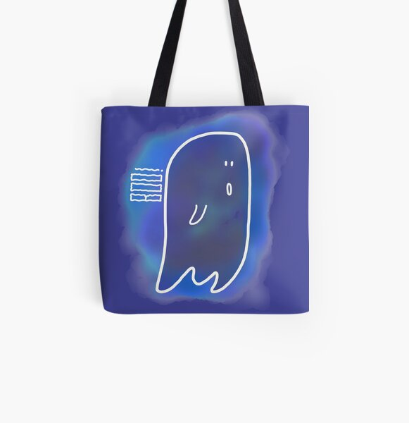 Ghostly Goings On All Over Print Tote Bag