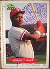 405 - Anthony Lewis by Foob's Baseball Cards