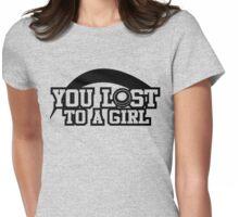 Women's hockey T-shirt (black) Womens Fitted T-Shirt