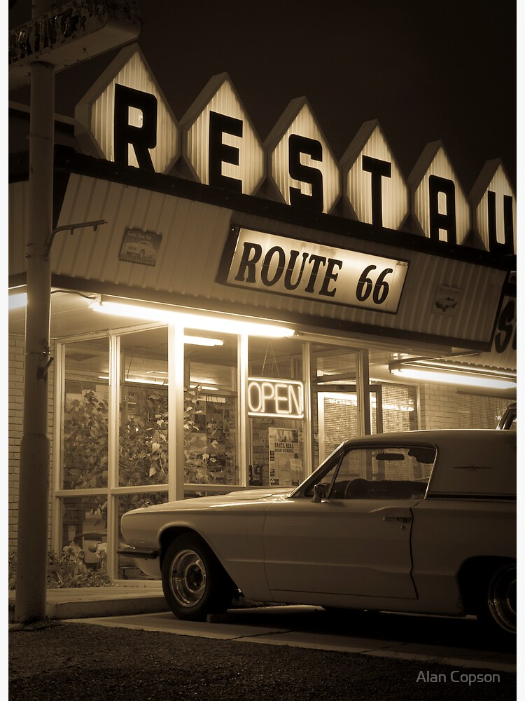 USA. New Mexico. Route 66. Santa Rosa. The Route 66 Restaurant. by AlanCopson