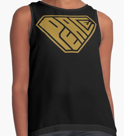 Peace SuperEmpowered (Gold) Contrast Tank