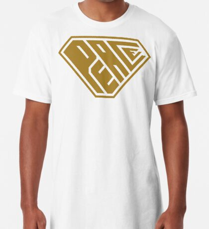 Peace SuperEmpowered (Gold) Long T-Shirt