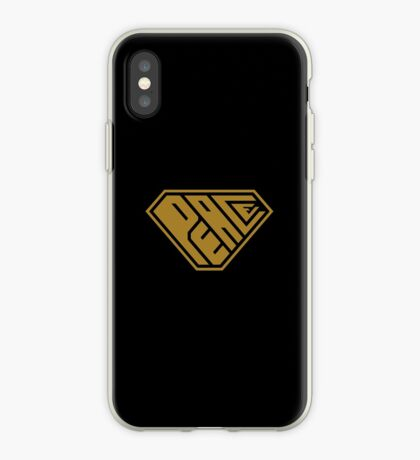 Peace SuperEmpowered (Gold) iPhone Case
