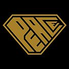Peace SuperEmpowered (Gold) by Carbon-Fibre Media
