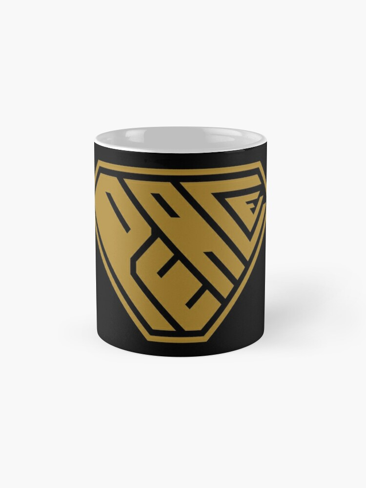 Alternate view of Peace SuperEmpowered (Gold) Classic Mug
