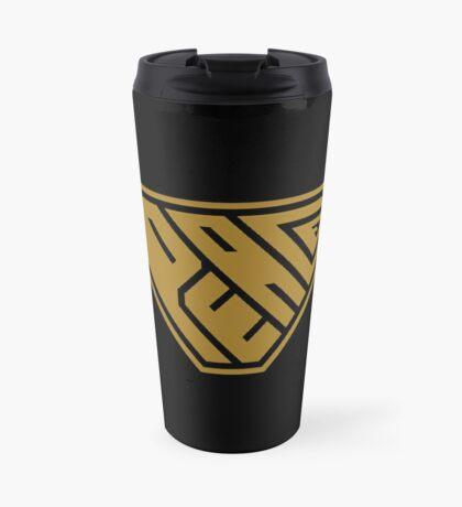 Peace SuperEmpowered (Gold) Travel Mug