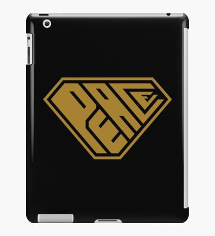 Peace SuperEmpowered (Gold) iPad Case/Skin