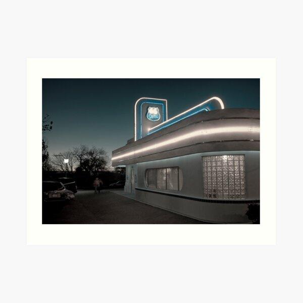 USA. New Mexico. Albuquerque. Route 66 Diner. Art Print