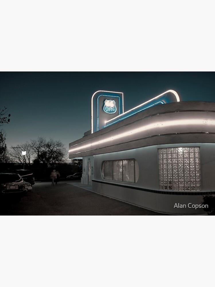 USA. New Mexico. Albuquerque. Route 66 Diner. by AlanCopson