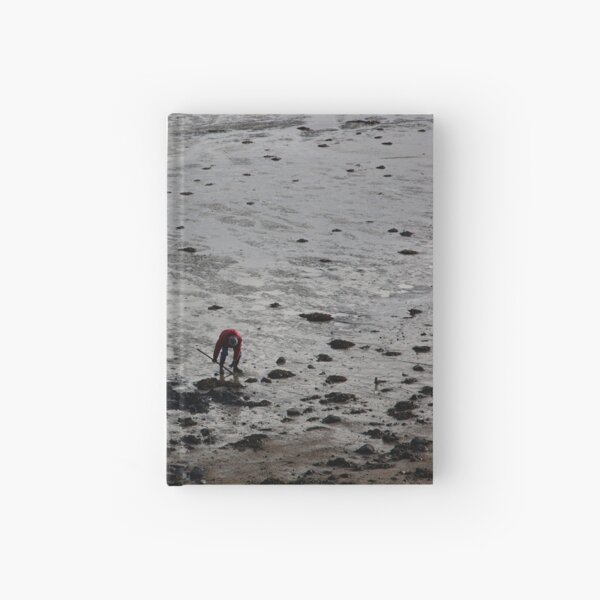 Digging mussels, Brittany Hardcover Journal