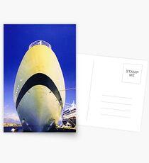 Seabourn Sun, Art Deco style Postcards