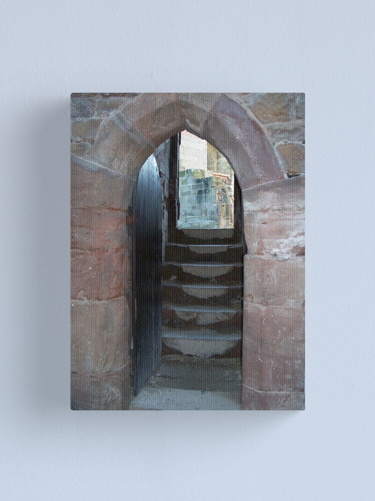 Alternate view of Stafford Castle 2 Canvas Print