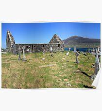 Achil Island cemetery Poster