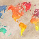 World Map maps 2  by JBJart