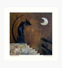 Cat's Hate the Dead : La Haine Du Chat Le Mort Art Print