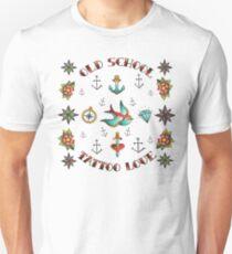 tatoo old school tee shirt white trending cute saying Unisex T-Shirt