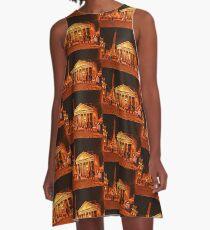 Pantheon, Rome, Italy A-Line Dress