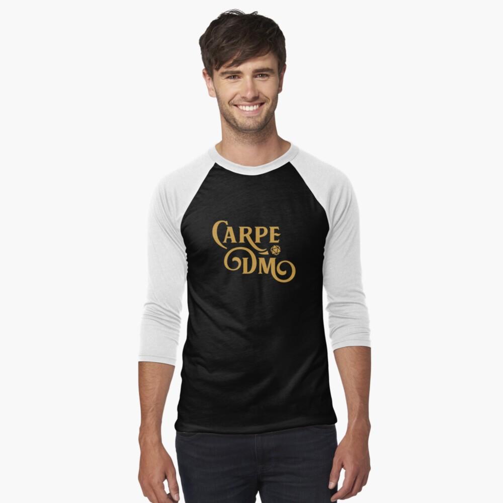 Carpe DM RPG Geek Dragons Nerd T Shirt