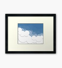 Cloud Ten Framed Print