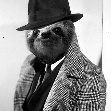 Gentleman Sloth 9# by luigitarini