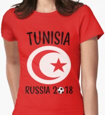 TUNISIA WORLD CUP RUSSIA 2018 Women's Fitted T-Shirt