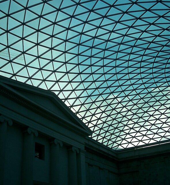 British Museum Great Court 2 by Robert Steadman