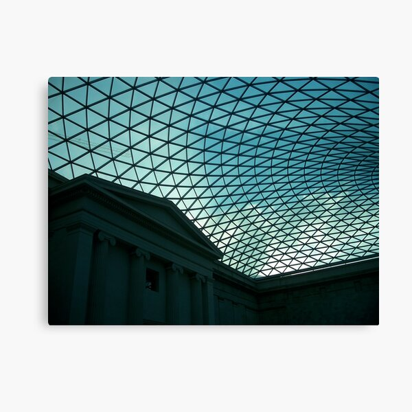British Museum Great Court 2 Canvas Print