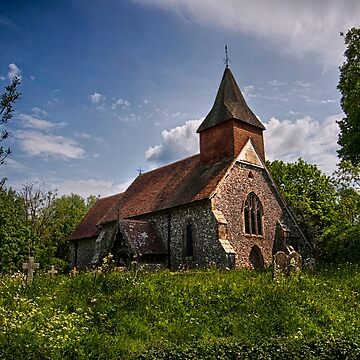 Selmeston Church  by RWTA