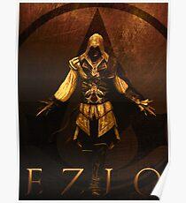 Ezio (vintage sepia)  Poster