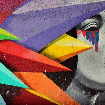Abstract Graffiti wall painting by alabafruit