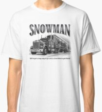 Smokey and the Bandit's Snowman Classic T-Shirt