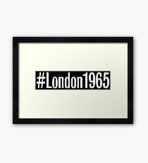 #London1965 Framed Print