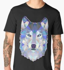 Cool Colorful Wolf Men's Premium T-Shirt