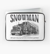 Smokey and the Bandit's Snowman Laptop Sleeve