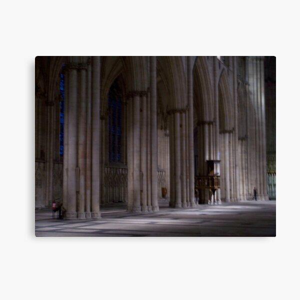 Inside York Minster Canvas Print
