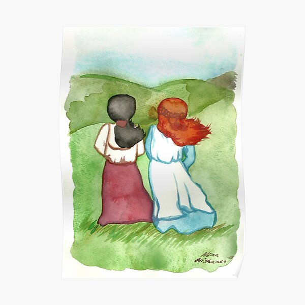 Anne and Diana Anne of Green Gables  Poster