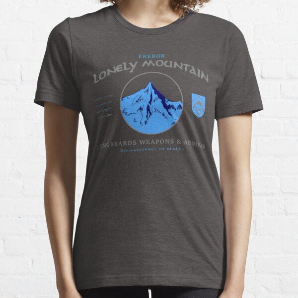 Longbeards Weapons & Armour : Erebor Lonely Mountain Essential T-Shirt