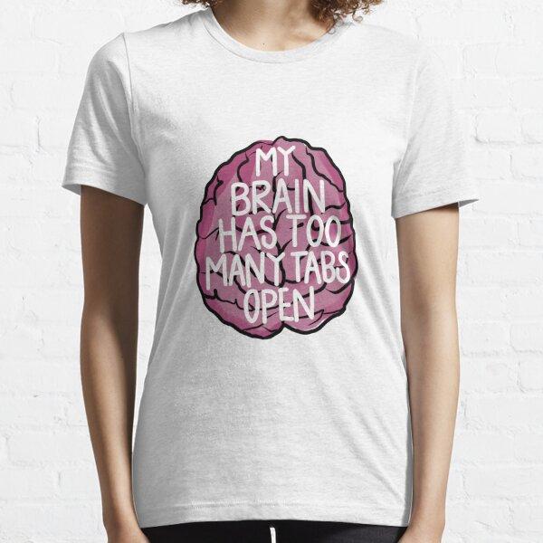 Brain Tabs Essential T-Shirt