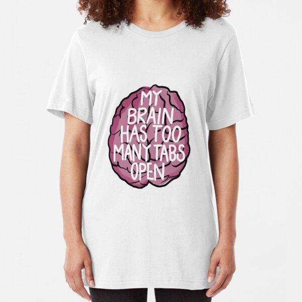 Brain Tabs Slim Fit T-Shirt