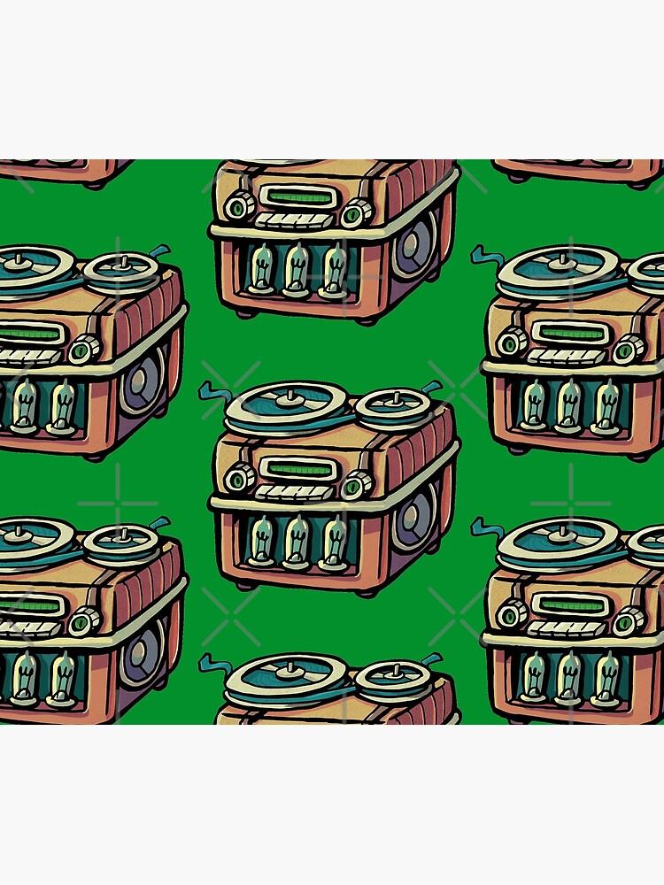Radio tape recorder by duxpavlic