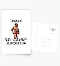Tobias The Never nude Postcards