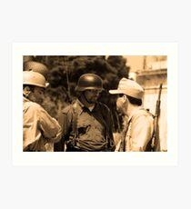1942- Military Mtarfa Art Print