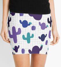Cactus purple #homedecor  Mini Skirt