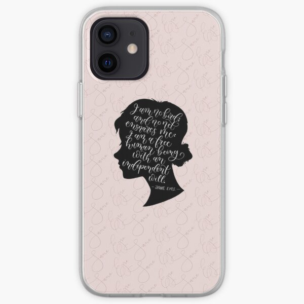 Jane Eyre Quote - Charlotte Bronte iPhone Soft Case