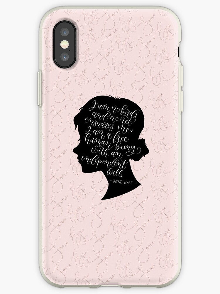 Jane Eyre Quote Charlotte Bronte IPhone Cases Covers By Love Unique Quotes Jane Eyre