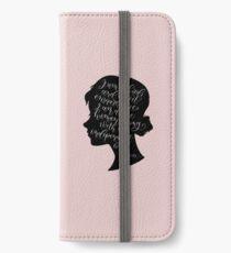 Jane Eyre Quote - Charlotte Bronte iPhone Wallet/Case/Skin