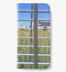 Grass Through The Grate iPhone Wallet/Case/Skin