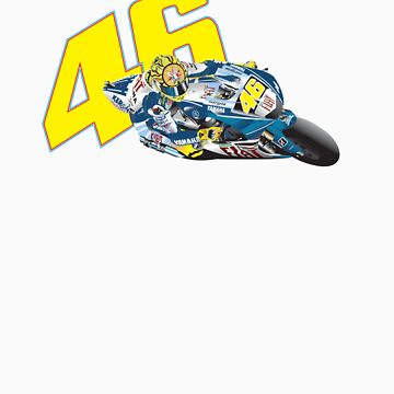 46 Valentino Rossi by rabble