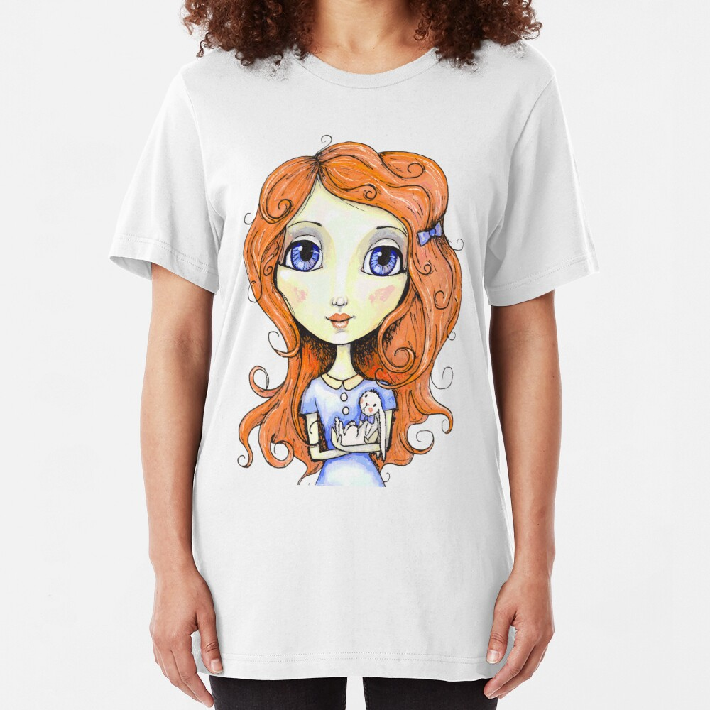 My Sweet Bunny Slim Fit T-Shirt